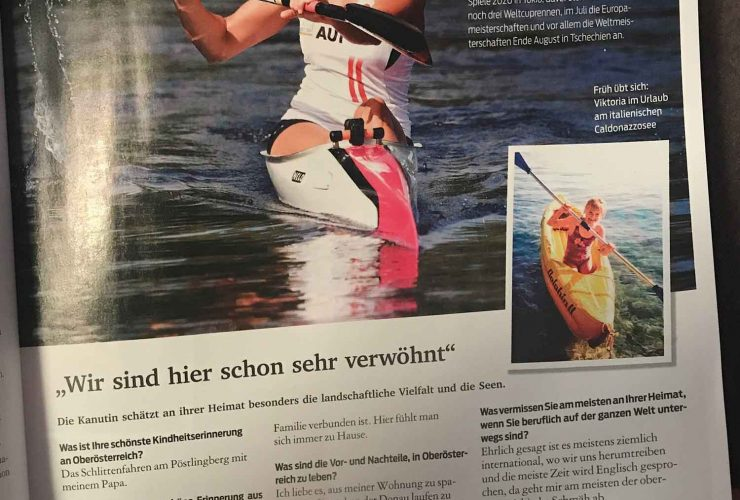 Bericht vom Kurier Magazin