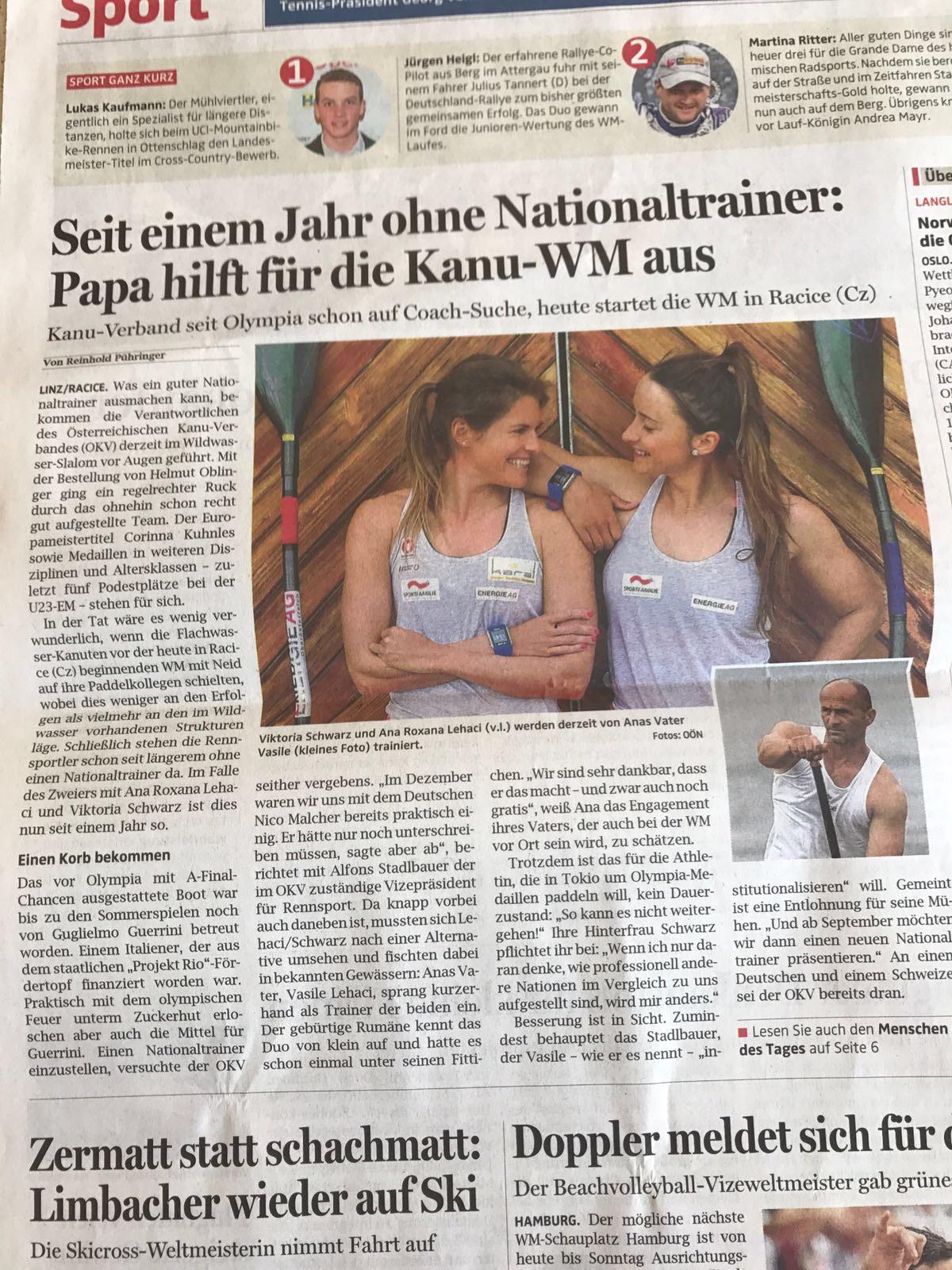 Seit einem Jahr ohne Nationaltrainer: Papa hilft für die Kanu-WM aus
