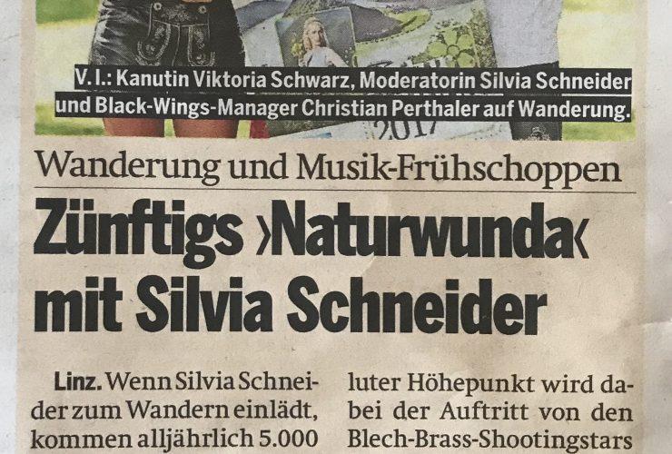 """""""Naturwunda"""" Bericht in der Österreich Zeitung"""
