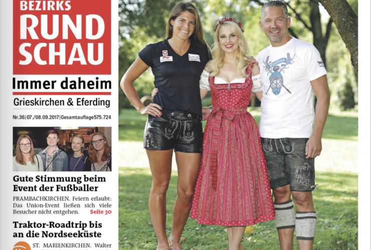 Titelseite Bezirksrundschau