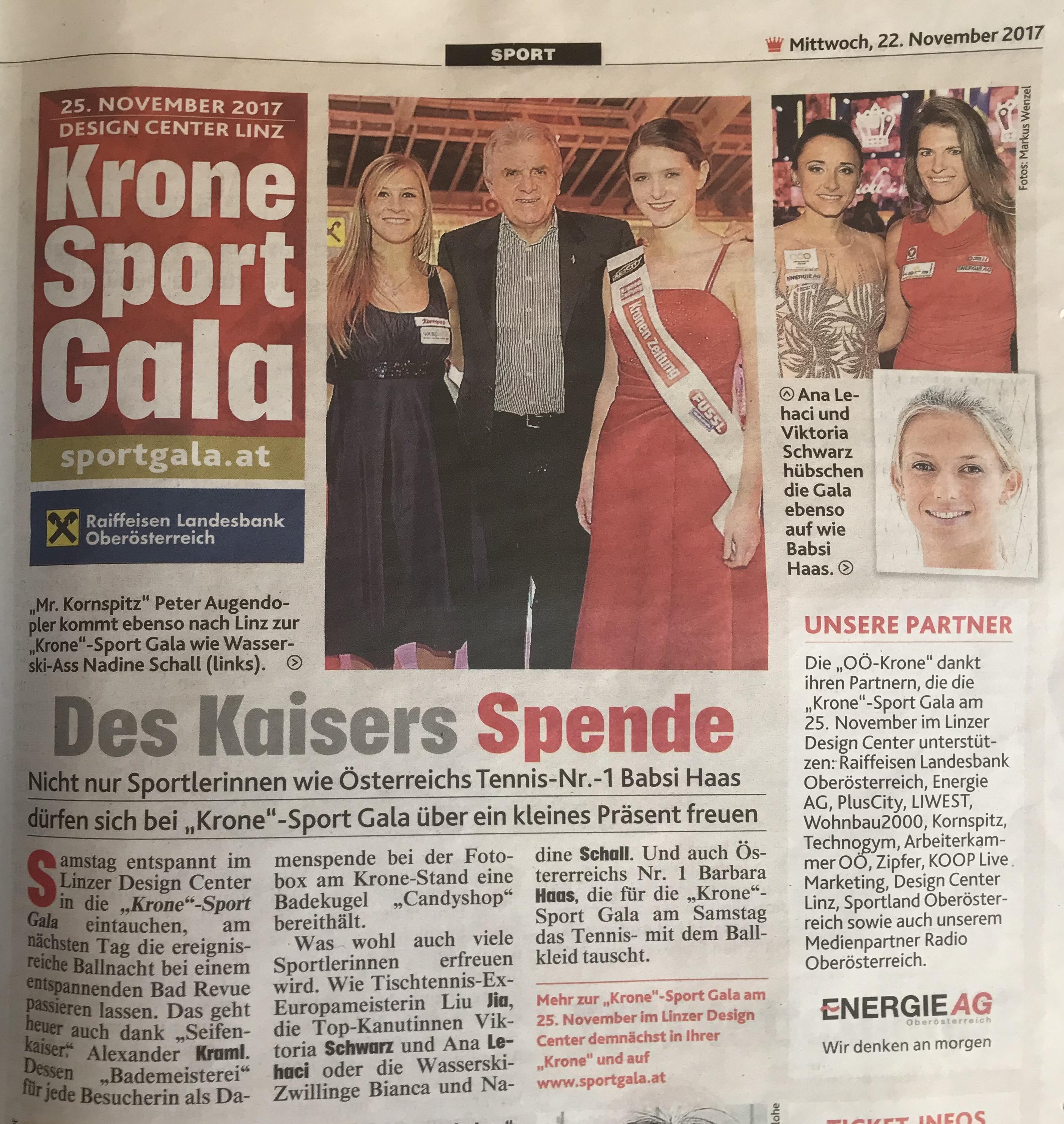 Krone Sport Gala 2017