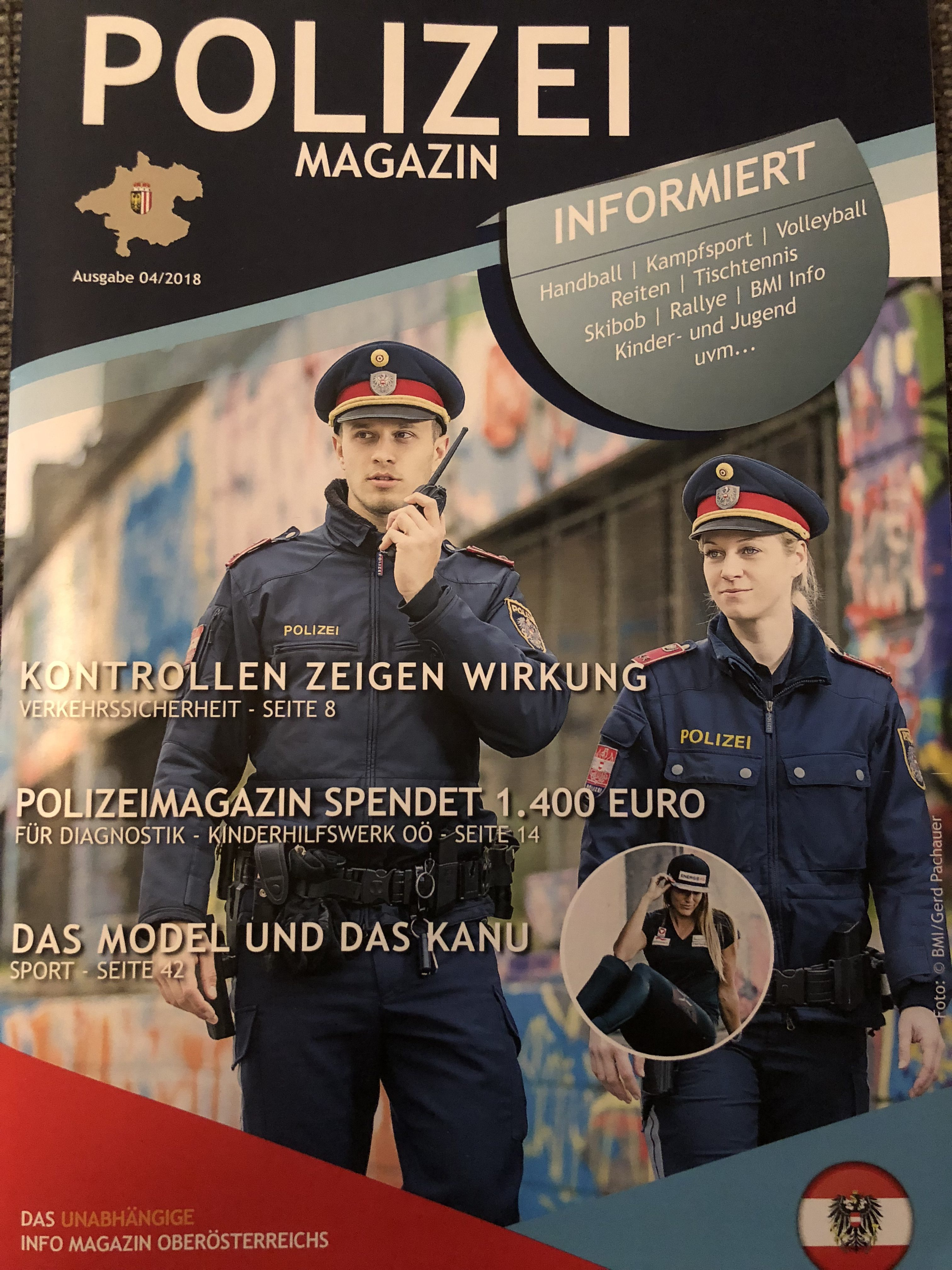Cover Polizei Magazin