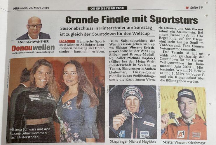 Krone: Sportfamilientreffen